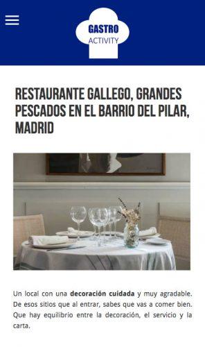 Opiniones de restaurante gallego en los medios ii - Restaurante solera gallega ...